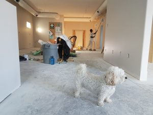 Interior of a house being remodeled - FHA 203K Loans