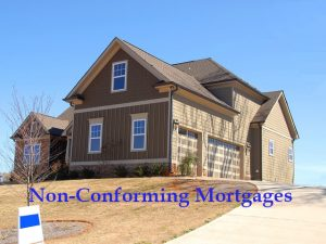 Non-Conforming Mortgages test on 2-story house for sale