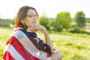 Woman Thinking About Whisch Bank Has The Best Refinance Rates