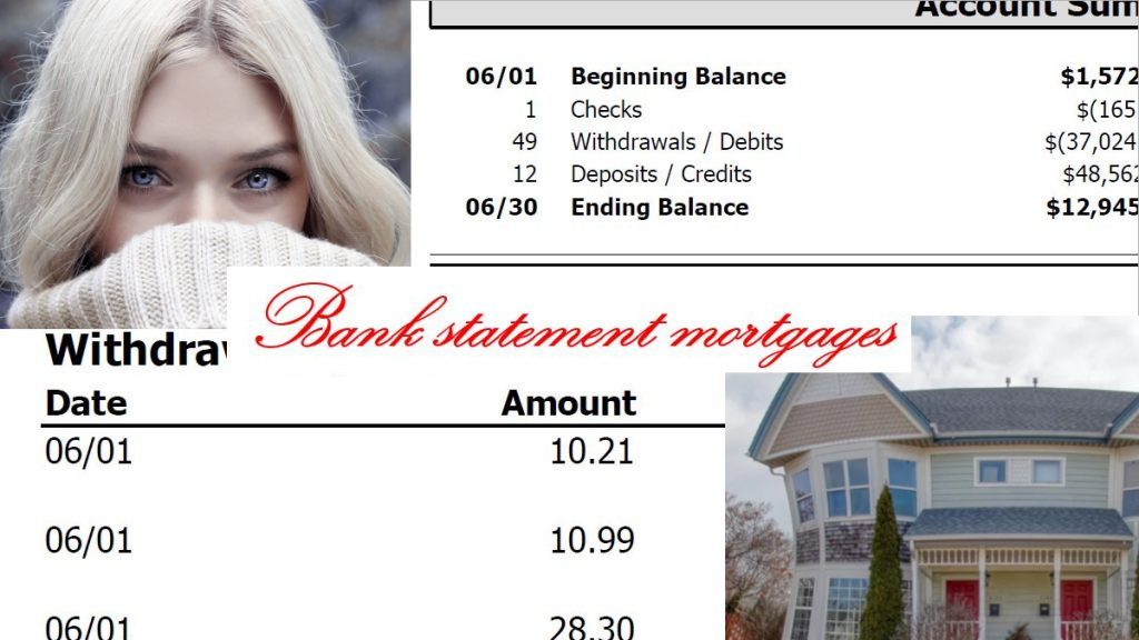 Home Loan With Bank Statements Only